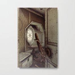 The Old Shabby Room Artwork Metal Print