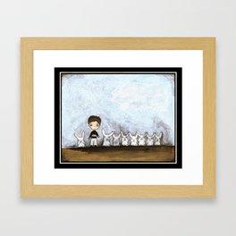 Not Just a Boy Framed Art Print