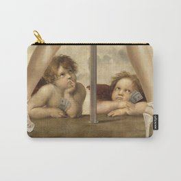 Not so Little Angels Carry-All Pouch
