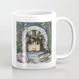 The Lotus-Wreathed Naiad Coffee Mug