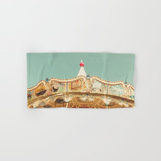 Carousel Lights Hand & Bath Towel
