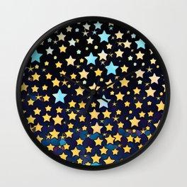 Full of Stars Wall Clock