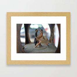 Always Dance Framed Art Print