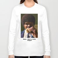 pulp fiction Long Sleeve T-shirts featuring PULP FICTION by i live