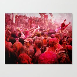 Festival of Colors Canvas Print
