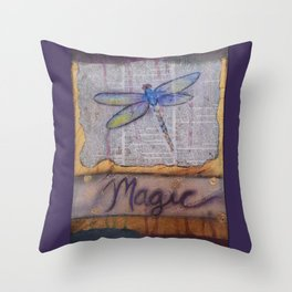 Art is Magic Throw Pillow
