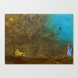 Anna in the Dustbowl Canvas Print