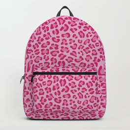 Leopard - Lilac and Pink Backpack