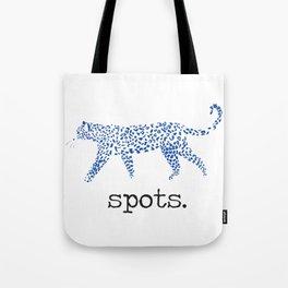 Spots Tote Bag