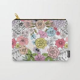 Pastel garden Carry-All Pouch