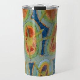 Radiant Circles Travel Mug