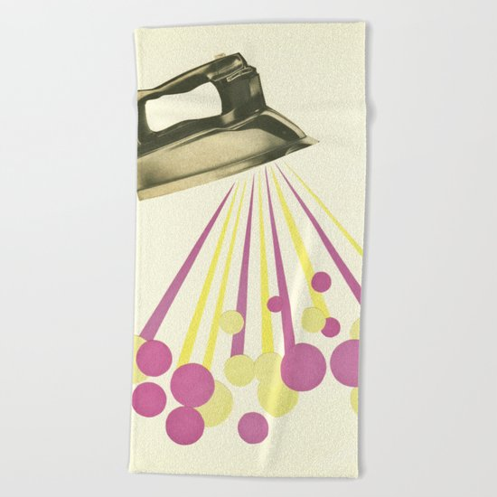 Steamy Beach Towel