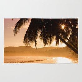 Tropical Sunset Rug