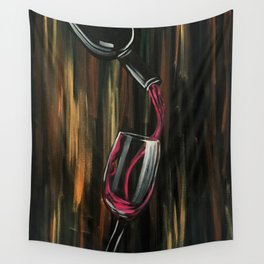 Fine Wine Wall Tapestry