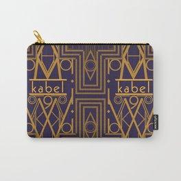 Kabel Type Portrait Purple Carry-All Pouch