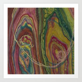 Sublime Compatibility (Intimate Reciprocity) Art Print