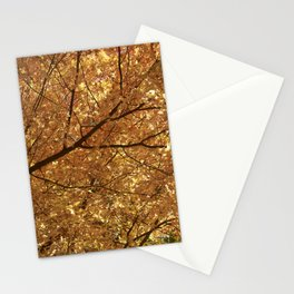 The colour tree Stationery Cards
