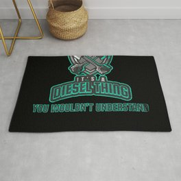 It's A Diesel Thing Gift for Automotive Mechanic Rug
