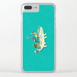 Crocodile Clear iPhone Case