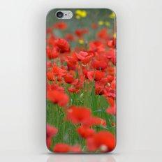 Poppy field 1820 iPhone & iPod Skin