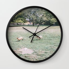 "Two ""Yutes"" Wall Clock"
