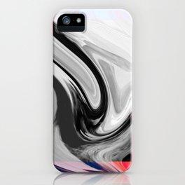 FLAMINGO - BLACK iPhone Case