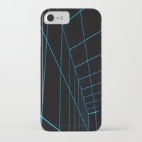tron iPhone & iPod Cases featuring Tron Lines by Kookyphotography