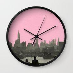 New York Nights Wall Clock