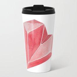 Crystal/Origami Heart Travel Mug