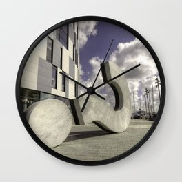 The Question is ..?  Wall Clock