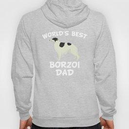 World's Best Borzoi Dad Hoody