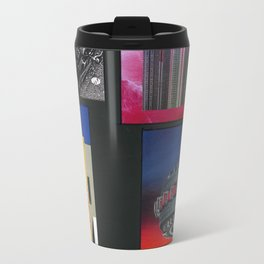 ABSTRACT COLLAGE Travel Mug