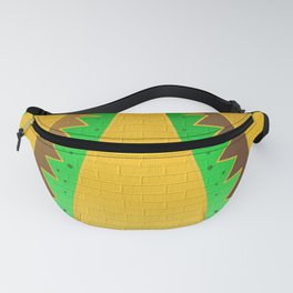 gold structure Fanny Pack