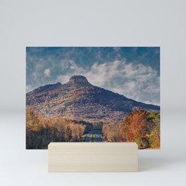 Pilot Mountain Mini Art Print