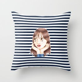 Chung-y Throw Pillow