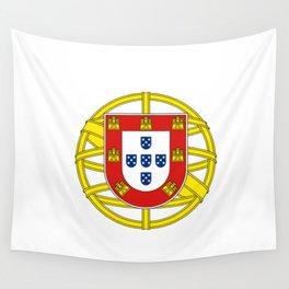 Portuguese Flag (Bandeira Portuguesa) Wall Tapestry