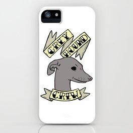 Greyhound Crew iPhone Case