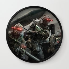 Ghost Recon Phantoms Wall Clock