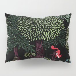 Into The Woods At Night Pillow Sham