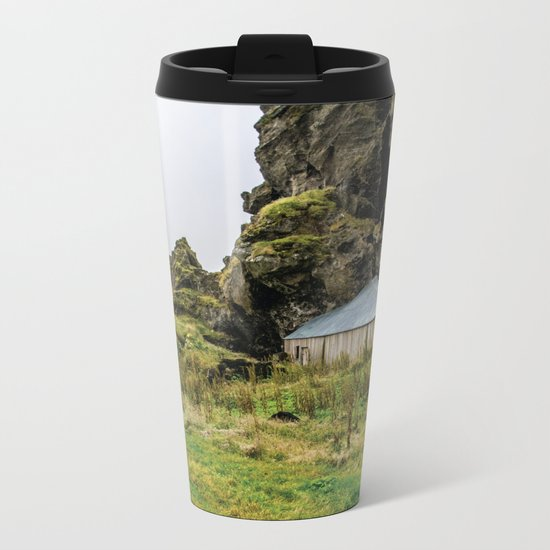 House in the Hill Metal Travel Mug