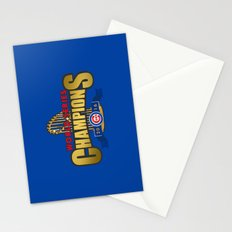 Cubs World Series Winner 2016 Stationery Cards