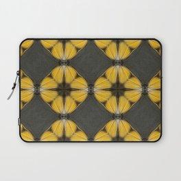 Yellow Butterfly Pattern Laptop Sleeve