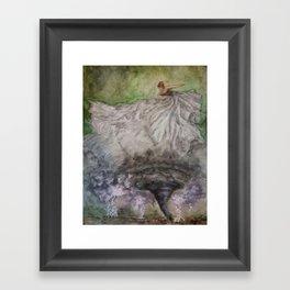 Dancer in the Storm Framed Art Print