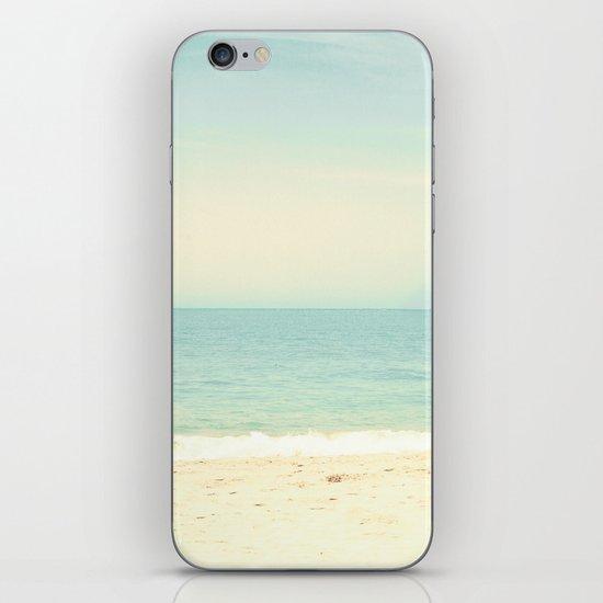 Pastel Retro Beach  iPhone & iPod Skin