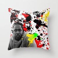 literature Throw Pillows featuring Literature by Kerosene Bill