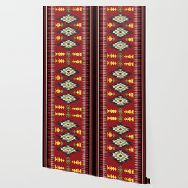 Navajo Pattern 1 Wallpaper