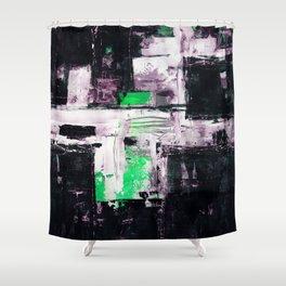 Transcendental Composition No.1e by Kathy Morton Stanion Shower Curtain