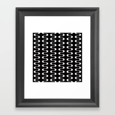 Geometric Pattern #173 (waves) Framed Art Print