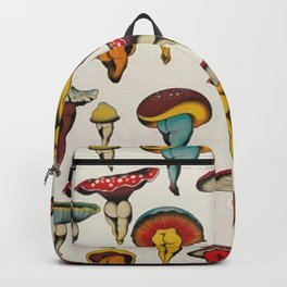 Sexy mushrooms pattern Backpack