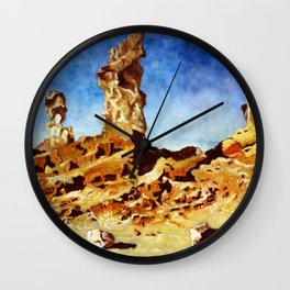 Valley of The Moon - Witches Face Wall Clock